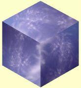 立方体の各面に…